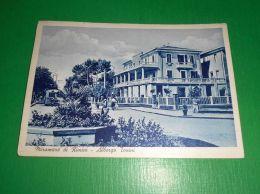 Cartolina Miramare Di Rimini - Albergo Tonini 1953 - Rimini