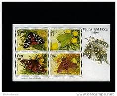 IRELAND/EIRE - 1994  FAUNA AND FLORA  MS MINT NH - Blocchi & Foglietti