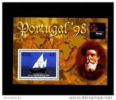 IRELAND/EIRE - 1998  PORTUGAL EXPO  MS MINT NH - Blocchi & Foglietti