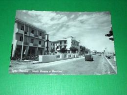 Cartolina Igea Marina - Viale Pinzon E Pensioni 1956 - Rimini