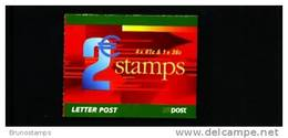 IRELAND/EIRE - 2002  € 2  BOOKLET BIRDS (4x41c.+1x36c.)   MINT NH - Libretti