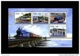 IRELAND/EIRE - 2005  DUBLIN - BELFAST RAILWAY  MS MINT NH - Blocchi & Foglietti