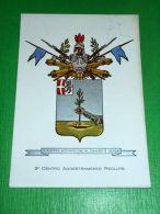 Cartolina Militaria 3° Centro Addestramento Reclute - Distaccamento Di Brescia - Régiments