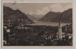 Gentilino (Collina D'Oro) E Sfondo Di Porlezza - Photo: A. Veronesi - TI Tessin