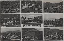 Valle Muggio - Cabbio, Bruzella, Vacallo, Caneggio, Castel S. Pietro - Photo: Ditta G. Mayr No. 2890 - TI Tessin