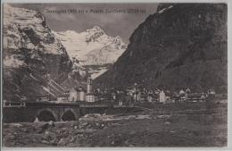 Sonogno (909 M) E Monte Zucchero (2739 M) - Photo: Brunner - TI Tessin