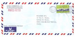3203-Cover Sent From Hong Kong To Italy - Otros