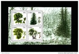IRELAND/EIRE - 2006  IRISH TREES  MS MINT NH - Blocchi & Foglietti