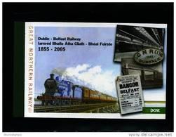 IRELAND/EIRE - 2005 DUBLIN-BELFAST RAILWAY PRESTIGE BOOKLET  MINT NH - Libretti