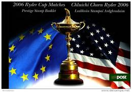 IRELAND/EIRE - 2006  RYDER CUP MATCHES  PRESTIGE BOOKLET  MINT NH - Libretti