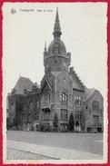 CPA Belgique Belgie TRAZEGNIES - HÔTEL De VILLE ° Nels - Courcelles