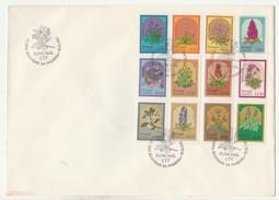 FDC * Large Format * Grand Format * Flores Regionais Da Madeira * 1983 - FDC