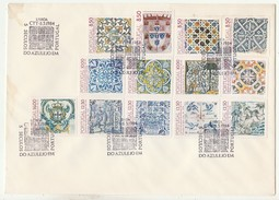 FDC????? * Large Format * Grand Format * 5 Séculos Do Azulejo Em Portugal * 1984 - FDC