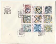 FDC????? * Large Format * Grand Format * 5 Séculos Do Azulejo Em Portugal * 1983 - FDC