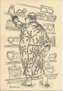 """Farouk. Satirique. """" Grands Hommes Dans Un Petit Endroit"""". Illustrateur Van Guy. - Personaggi Storici"""