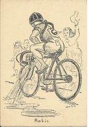 """Robic . Satirique. """" Grands Hommes Dans Un Petit Endroit"""". Tour De France.Illustrateur Van Guy. - Personalità Sportive"""