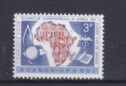 """Ruanda-Urundi (1960)  - """"Cooperation""""   Neufs** - Ruanda-Urundi"""