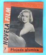 MARILYN MONROE - Front Cover Of Yugoslav Vintage Film Magazine From 1953.y  RRRR - Books, Magazines, Comics