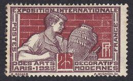 FRANCE Francia Frankreich - 1924 - Yvert 212 Nuovo Senza Traccia Di Linguella, 25 Cent. - France