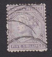 Jamaica, Scott #15, Used, Queen Victoria, Issued 1875 - Jamaïque (...-1961)