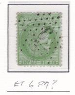Etoile 6 P7? Sur 53 - Marcophilie (Timbres Détachés)