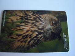 ANDORRA  USED CARDS  BIRDS BIRD - Andorra