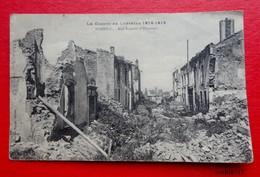 Guerre En Lorraine  1914 1918 - NOMENY - Rue Fourier  D'Hincourt - War 1914-18