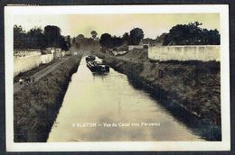 BLATON - Vue Du Canal Vers Péruwelz - RR - Circulé - Circulated - Gelaufen - 1938. - Bernissart