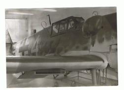 Photo (9 X 13 Cm) Guerre 40/45 - Avion Allemand Messerschmitt (b207) - Aviation