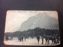 1245 - GRENOBLE Manoeuvres D'Artillerie Au Polygone - 1908 - Grenoble