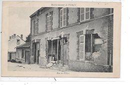 DEP. 51 BOMBARDEMENT DE VERZY - RUE DE VILLERS - Verzy