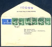 G17- Postal Used Cover. Posted From Nigeria To Wiltshire. - Nigeria (1961-...)