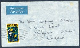 G19- Postal Used Cover. Posted From Nigeria To England. UK. Fishing. - Nigeria (1961-...)
