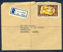 G21- Postal Used Cover. Posted From Nigeria To England. UK. Animals. - Nigeria (1961-...)