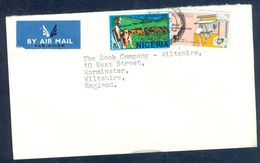 G22- Postal Used Cover. Posted From Nigeria To England. UK. Animals. - Nigeria (1961-...)