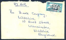 G24- Postal Used Cover. Posted From Nigeria To England. UK. - Nigeria (1961-...)