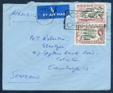 G28- Postal Used Cover. Posted From Nigeria To Scotland. Uk. England. - Nigeria (1961-...)