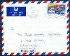 G32- Postal Used Cover. Posted From Nigeria To England. UK.  Ship. Ducks. See Life. - Nigeria (1961-...)