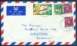G43- Postal Used Cover. Posted From Nigeria To England. UK. Animals. Leopard. - Nigeria (1961-...)
