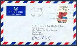 G50-  Postal Used Cover. Posted From Nigeria To England. UK. Telex Network. - Nigeria (1961-...)