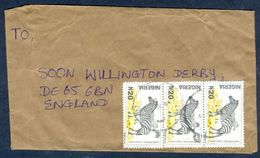 G57- Postal Used Cover. Posted From Nigeria To England. UK. Animals. Zebra. - Nigeria (1961-...)