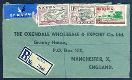 G60-  Postal Used Cover. Posted From Nigeria To England. UK. See Life. Supreme Court Building. - Nigeria (1961-...)