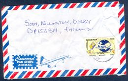 G64- Postal Used Cover. Posted From Nigeria To England. UK. - Nigeria (1961-...)