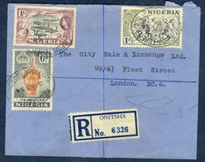 G67- Postal Used Cover. Posted From Nigeria To England. UK. Timber. - Nigeria (1961-...)