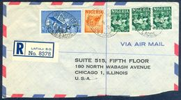 G68- Postal Used Cover. Posted From Nigeria To USA. Oyo Carver. Camel. 2nd Anvi Of Independence. - Nigeria (1961-...)