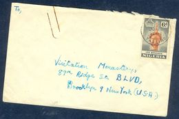 G71- Old & Rare Postal Used Cover. Posted From Nigeria To USA. Ife Bronze. - Nigeria (1961-...)