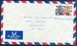 G80- Postal Used Cover. Posted From Nigeria To England. UK. Post Office. - Nigeria (1961-...)