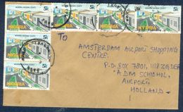 G81- Postal Used Cover. Posted From Nigeria To Holland.Modern Housing. - Nigeria (1961-...)