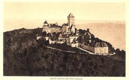 [DC10459] CPA - FRANCIA - HAUT KOENIGSBOURG - ALSACE - TIMBRE VISITE AU CHATEAU - Non Viaggiata - Old Postcard - Non Classificati