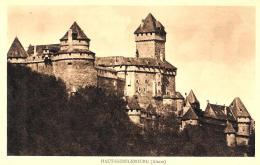 [DC10460] CPA - FRANCIA - HAUT KOENIGSBOURG - ALSACE - TIMBRE VISITE AU CHATEAU - Non Viaggiata - Old Postcard - Non Classificati